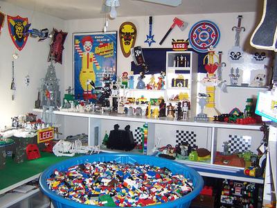 Daily Lego Honey Ill Be In My Lego Room Geekdad