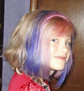 How To Dye Your Kids Hair Blue Geekdad