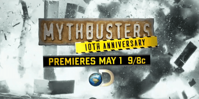 Mythbusters 10th anniversary