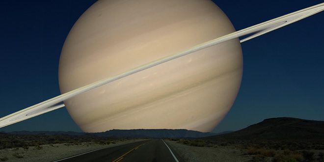 What if we had Saturn instead of the Moon?