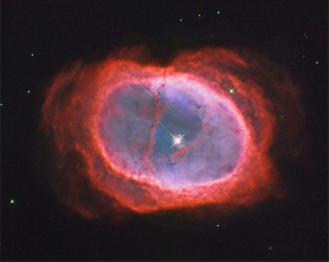 NGC 3132: The Southern Ring Nebula  Image Credit: Hubble Legacy Archive, ESA, NASA; Processing - Donald Waid