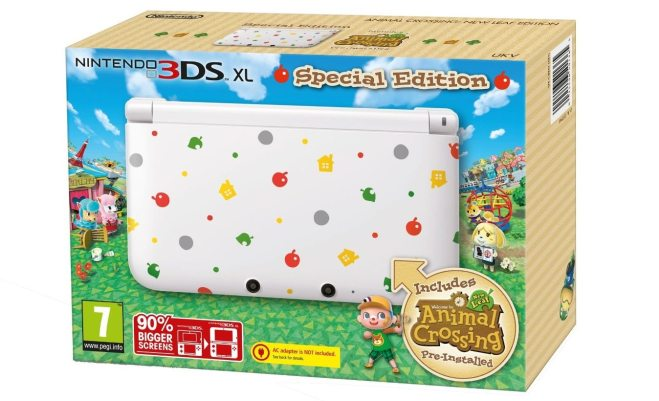 Animal Crossing New Leaf Limited edition 3DS XL