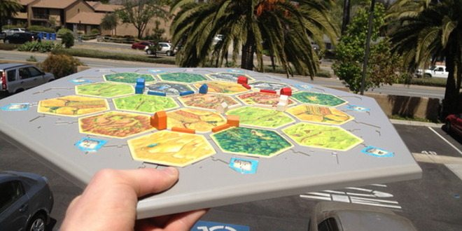 Photo from Catan Gaming Board Update