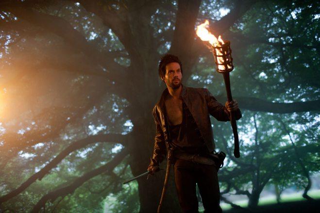 Tom Riley as Leonardo Da Vinci, from Da Vinci's Demons, copyright Starz Network