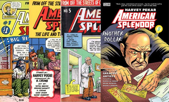 American Splendor covers