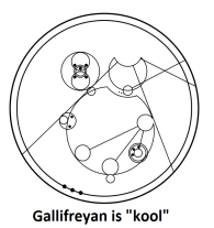 Whovians Rejoice! Learn Gallifreyan Now