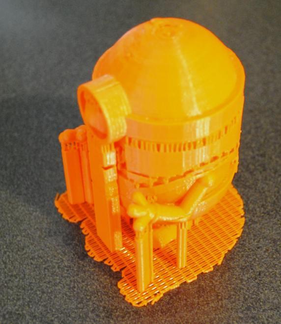 Minion 3D model needs some finishing