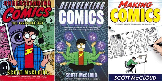Scott McCloud covers