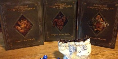 Back in Print – Advanced Dungeons & Dragons 2nd Edition Core Rule Books