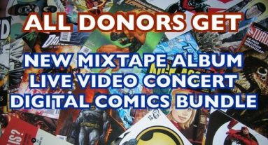 Exclusive Adam WarRock Video, Donation Drive Information