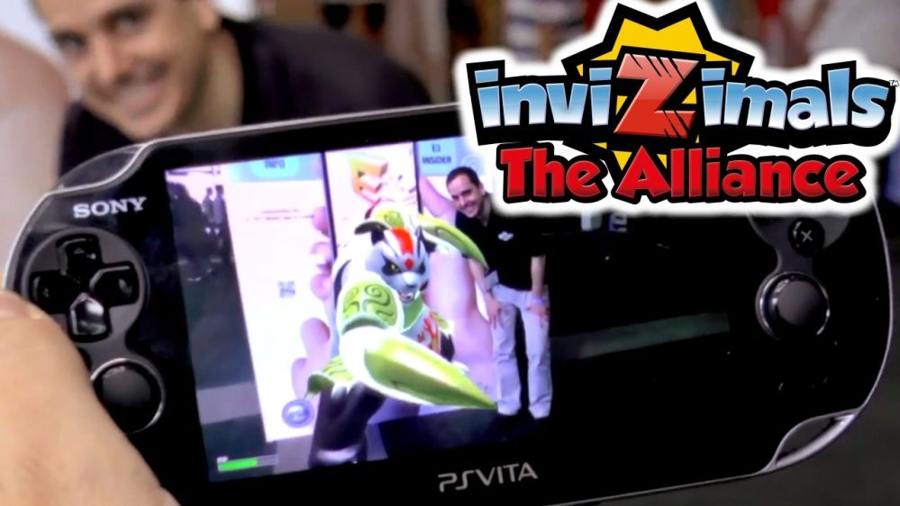 Invizimals on PS3 and Vita