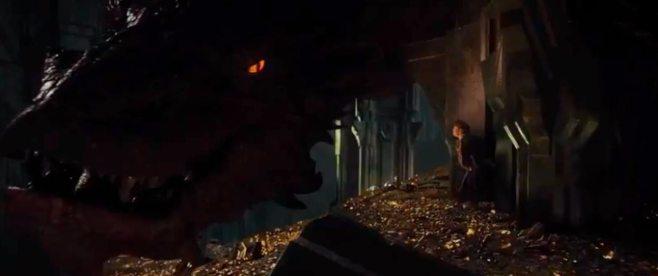 A glimpse of Smaug