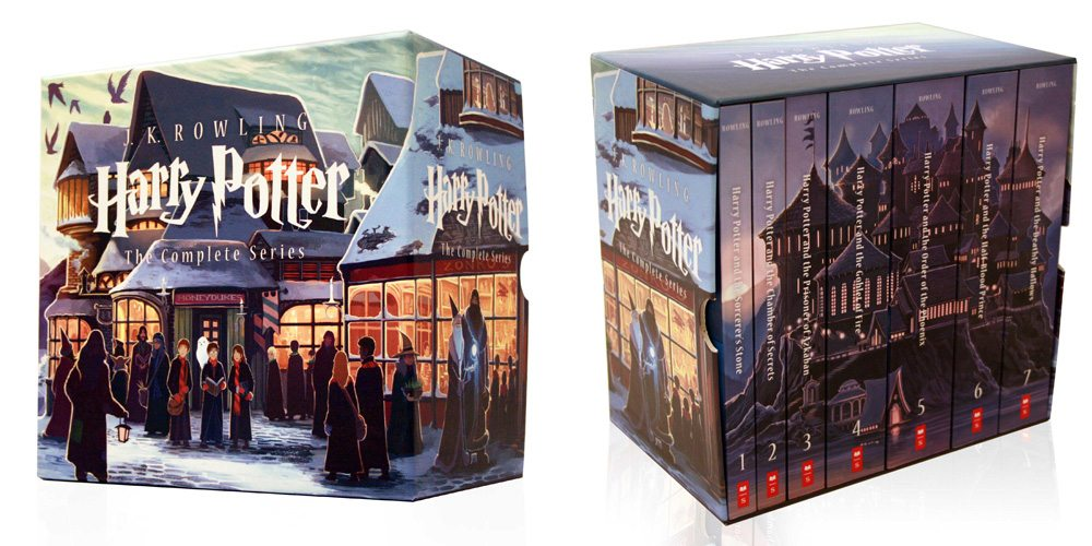 Harry Potter Book Gift Set : Final harry potter cover reveal today at scholastic store