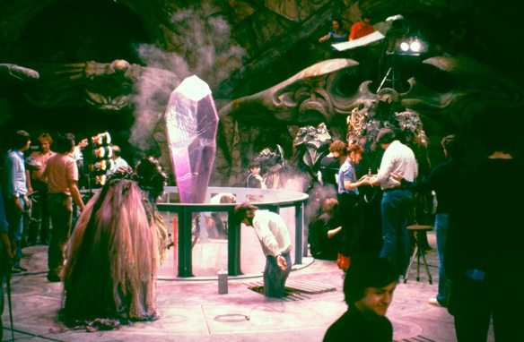 April 15, 1981 The first scenes shot are: Mystic Valley, Dying Emperor and Crystal Chamber.