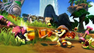 First Skylanders Swap Force PS4 Gameplay