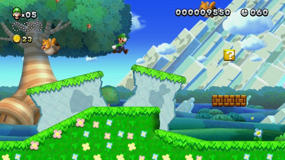 super luigi screenshot