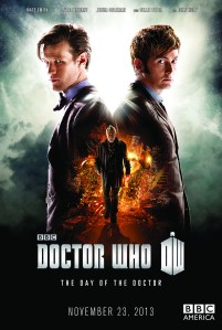 """Doctor Who 50th Anniversary """"The Day of the Doctor"""""""