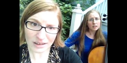 The Doubleclicks' Weekly Song Wednesday