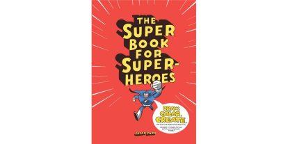 From Drawing to Code-Cracking, The Super Book for Superheroes Has It All