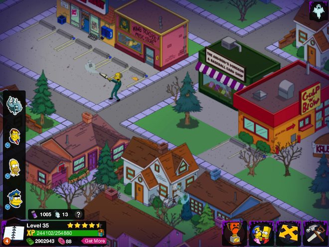 The Simpsons Tapped Out Halloween 2013 Content Update  Caroldoey