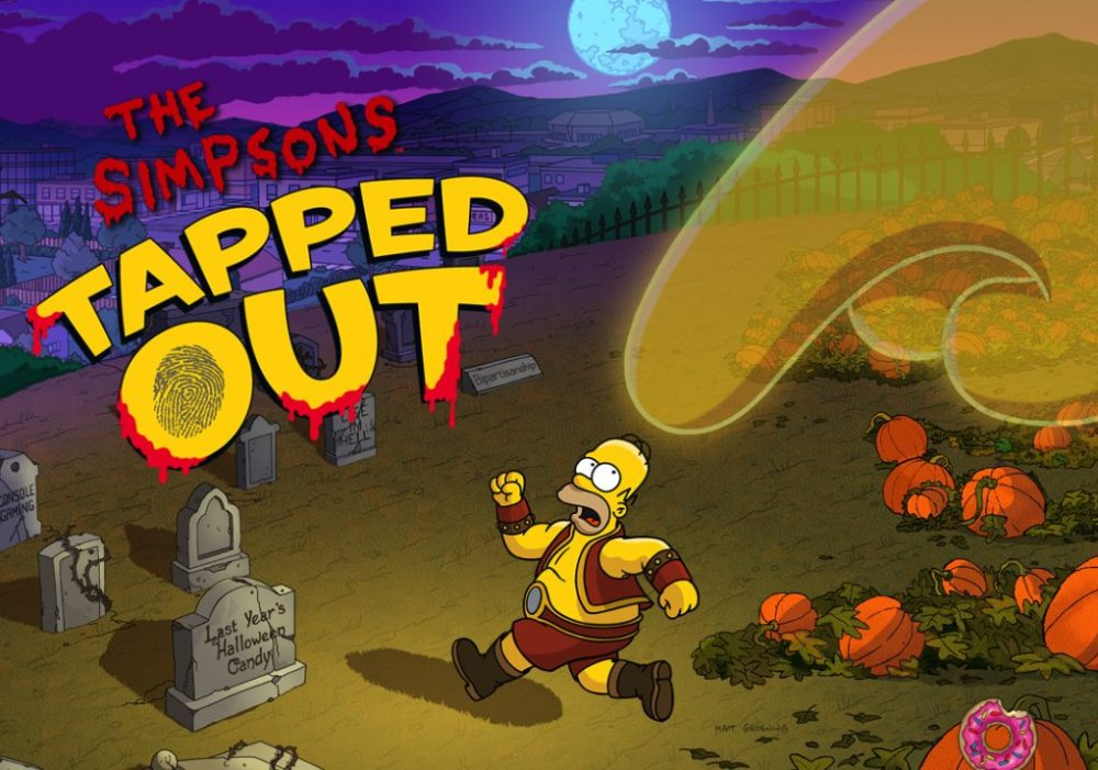 The Simpsons: Tapped Out is back in the Halloween spirit