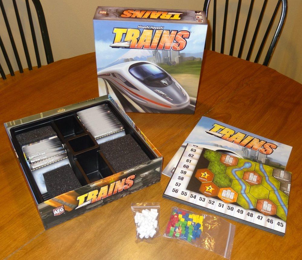 Trains components