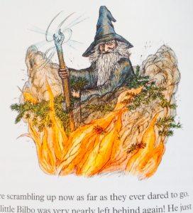 Gandalf gets fiery.