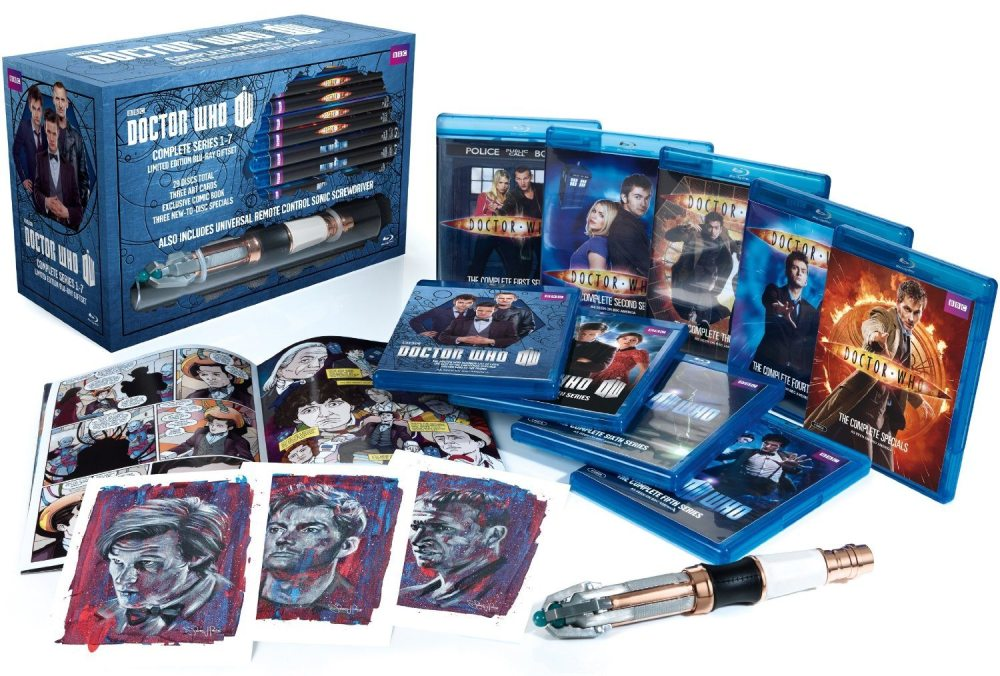Doctor Who: Series 1-7 Limited Edition Blu-ray Giftset (2013)