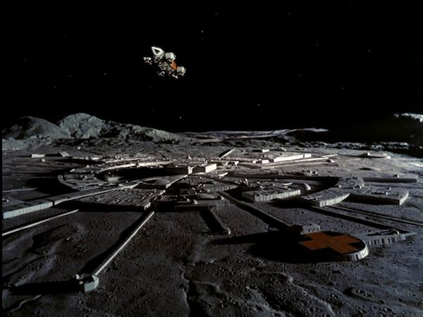 MoonBase Alpha from Space 1999