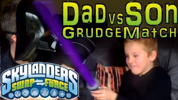 Skylanders Swap Force Dad and Son Battles Every Weekend