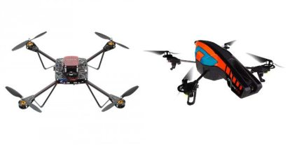 A Tale of Two Drones: Parallax ELEV-8 & AR.Drone 2.0