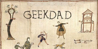 Fun With History: The Bayeux Tapestry