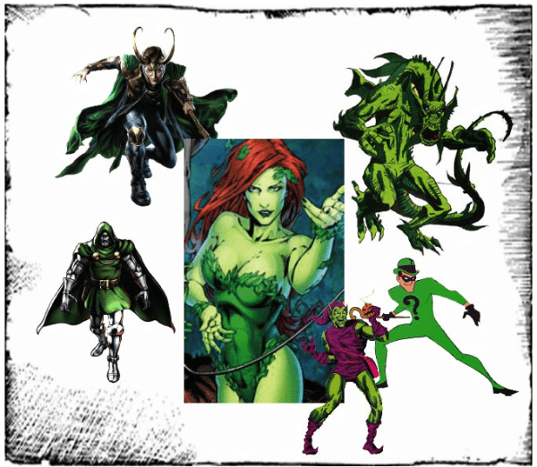 Composite by Lisa Kay Tate Images copyright DC Comics and Marvel ComicsComics and Image Comics.
