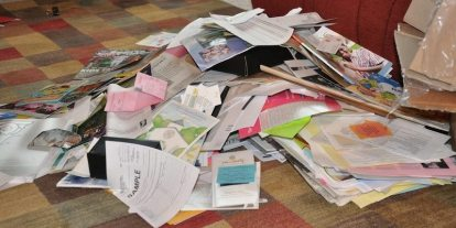 Living With Less Clutter, Part 1: Breaking the Paper Pile Curse