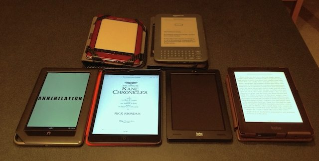 tablets and e-readers