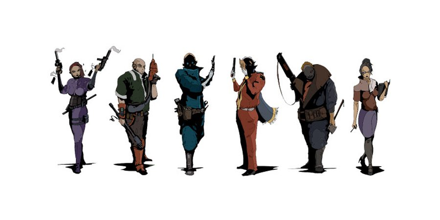 The Agents - agent portraits