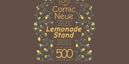 Out With the Comic Sans, In With the Comic Neue (Plus: Kickstarter Alert!)