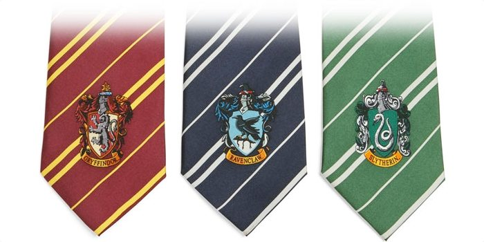 Harry Potter House Ties