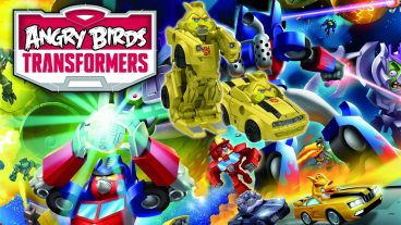 Angry Birds Transformers Telepods Announced