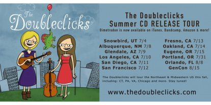 The Doubleclicks' Dimetrodon Tour
