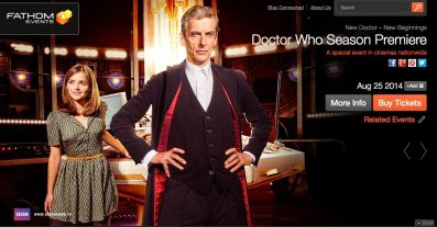 """Take a """"Deep Breath"""" — Doctor Who to Premiere at a Theater Near You"""
