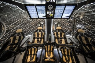 NASA Awards Contracts for Manned Flights
