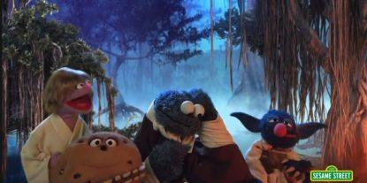 Sesame Street Makes a Really Sweet Star Wars Parody