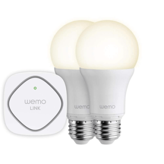 The WeMo LED Lighting Starter Set. Image: Belkin