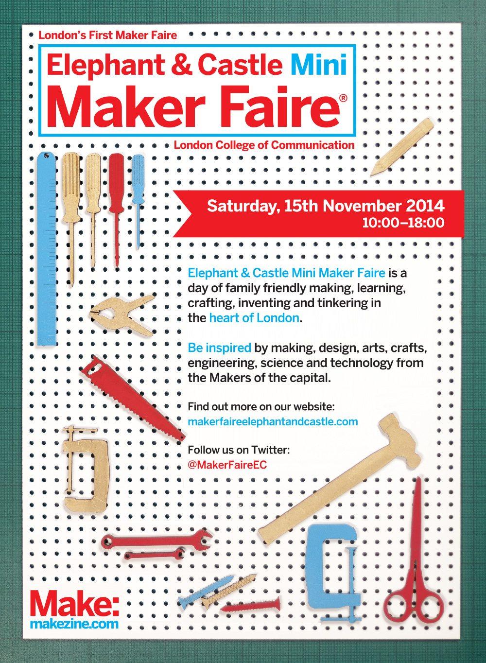 Mini Maker Faire Returns To London 39 S Elephant And Castle