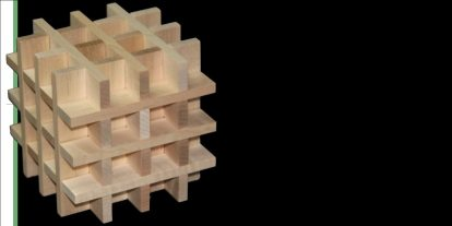 How to Build an Impossible Woven Box With Keva Planks