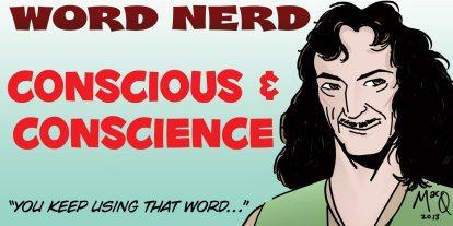 Word Nerd: Guilty Conscious