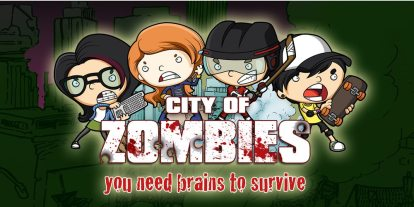 'City of Zombies': You Need Brains to Survive