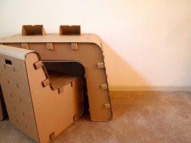 Kickstarter: Kids Imagination Furniture by The Cardboard Guys