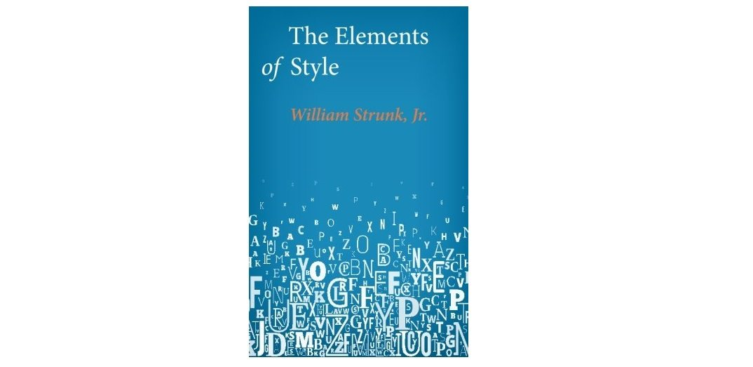 a visual babel that would surely have nettled that most inflexible and choosy of men as white calls the professor in his introduction to elements